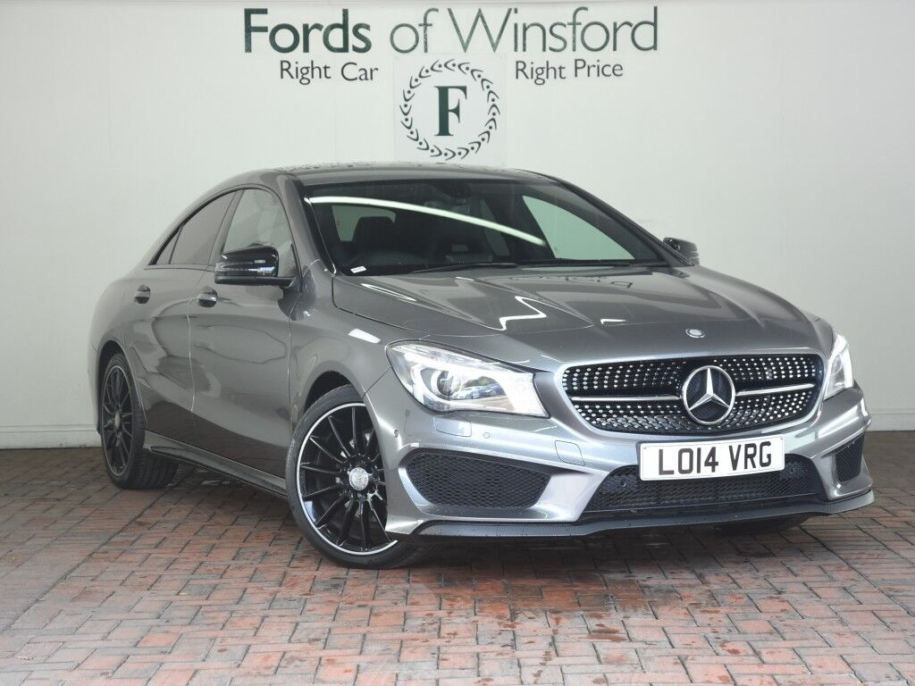mercedes benz cla class cla 200 cdi amg sport 4dr grey 2014 in winsford cheshire gumtree. Black Bedroom Furniture Sets. Home Design Ideas