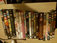 Selection of dvds including boxsets