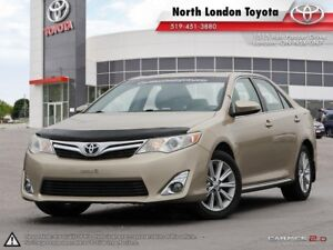 2012 Toyota Camry XLE V6 Spacious interior and top safety sco...