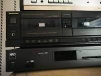 Technik sterio cassette player and copier