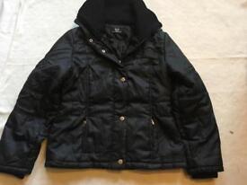 Daqipeng ladies light puffy jacket size XL black £4 used