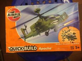 AIRFIX Apache helicopter