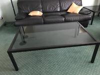 3 Glass IKEA Coffee Tables
