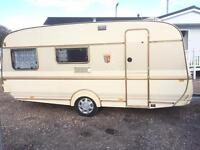 Tabbert comtesse 450 4berth fixed bed with motor mover