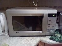 LG intellowave microwave 800w