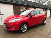 Ford Fiesta Zetec 1.25 Red Manual 3dr Exceptional Condition Low Mileage