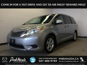 2017 Toyota Sienna LE FWD - Bluetooth, Backup Cam, Heated Front