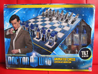 Doctor Who Chess Set.