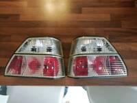 Mk2 Golf Crystal rear lights