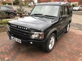 Landrover Discovery TD5 2002 ES full service history and 12 months mot