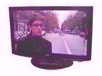 """LG 37"""" TV. Built in Free-view HDMI, SCART."""