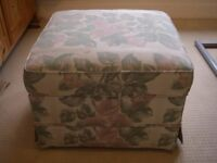 Large Foot Stool / Pouffe with storage