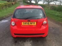 2009 CHEVROLET AVEO 1.2 FULL YEAR MOT