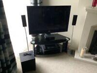 40 inch Sony tv blueray player, 5.1 surround sound