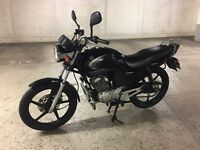 Yamaha YBR 125 Black - classic machine! (fully serviced)