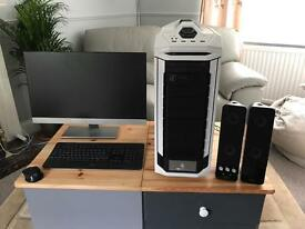 High end gaming computer.