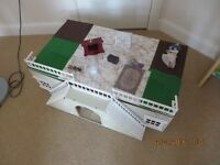 ADULT DOLLS HOUSE BASEMENT WITH EXTRA PIECES.