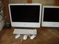 """Apple iMac 24"""" & 20"""" spares or repair."""