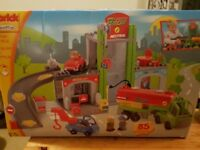 Toy garage and filling station