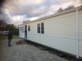 1 and 2 bedroom statics caravans with central heating