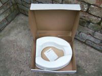 Raised toilet seat Savanah brand - height 10cm