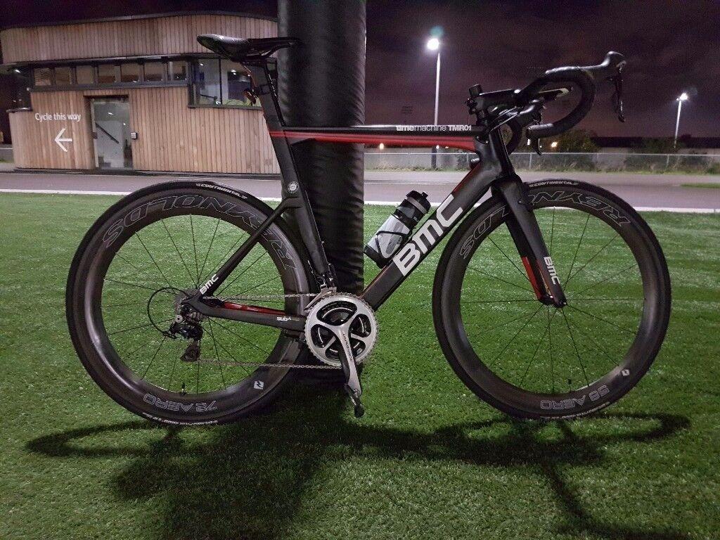 BMC TMR01 size 56, dura ace 9000. Carbon aero bike. Better then giant trek sworks cervelo