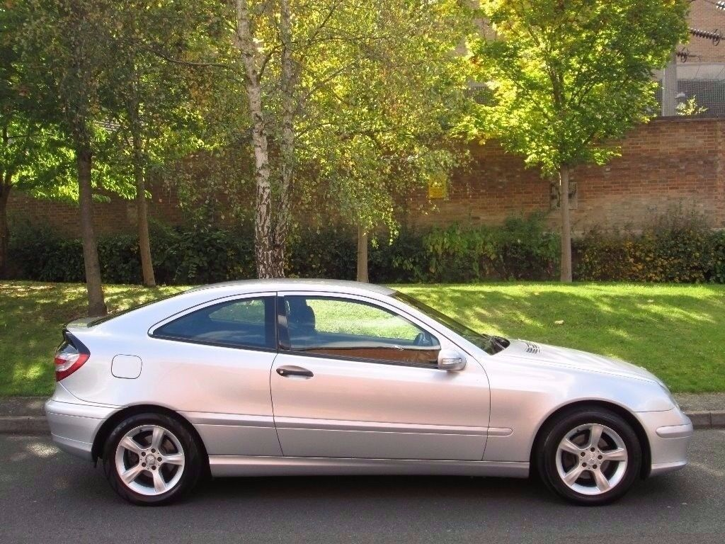 2007 (57) Mercedes C Class Coup 2.1 Diesel Manual With 12 Month MOT PX Welcome