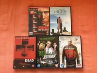 DVDs- Nicolas Cage