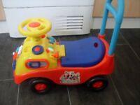 child push along micky car