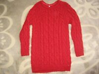M&S Girls Tunic Jumper (age 10-11)
