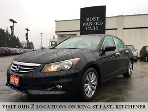 2012 Honda Accord Sedan EX-L | 3.5L V6  NAVIGATION | TAN LEATHER
