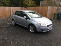 Fiat Grand Punto, 1.4 8v Eleganza with low milage in good condition with a lot of extra's.