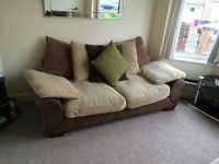 2 three seater sofa s for sale