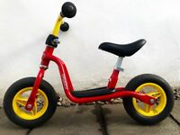 Puky Medium Kids Red Learner Balance Bike