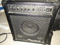 43 W bass amp / combo / amplifier
