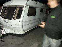 Lunar venus 6 berth caravan and full size awning in good condition