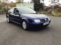 06 Vw Bora highline 130 sport full leather alloys heated seats mint car inside out ready to use px
