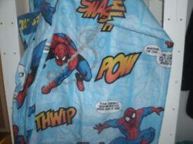 Spiderman single Duvet Cover & pillow slip