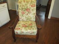 CHAISE INCLINABLE ANTIQUE