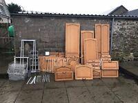 Oak farmhouse kitchen doors