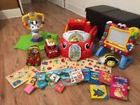 Job lot - baby/toddler toys & books