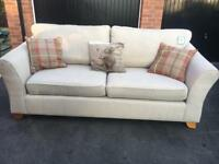 Marks and Spencer large abbey sofa ex display but new condition