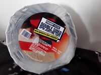 £5. Visqueen Double Sided Membrane Jointing Tape 10m x 50mm