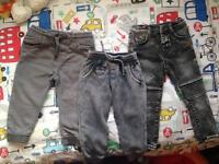 ZARA BOYS TROUSERS AGE 18-24 MONTHS