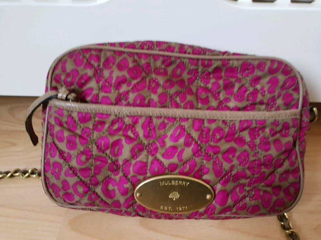 f04e2f6feb Mulberry Rosie satchel in leopard