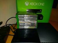 XBOX ONE 500GB CONSOLE AND GAMES