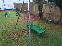 Garden Swing - Triple Swing - Sturdy and well built.