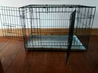 Double door pet cage/ dog crate