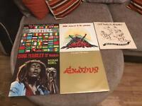 Bob Marley vinyl collection