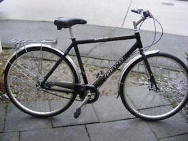 "MANS GIANT HYBRID 21"" ALUMINIUM FRAME BIKE IN GREAT CONDITION 3 SPEED GEAR"